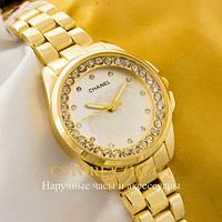 Наручные женские часы Бельгийские Chanel gold gold