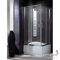 Душевые кабины, двери и шторки для ванн Radaway Душевая кабина с высоким поддоном Radaway Premium Plus C 80x80 30461-01-06N (хром/фабрик)