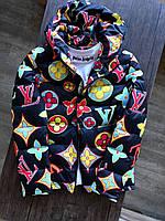 Куртка мужская демисезонная Louis Vuitton до 0*С | весенняя осенняя молодежная Пуховик мужской ЛЮКС качества