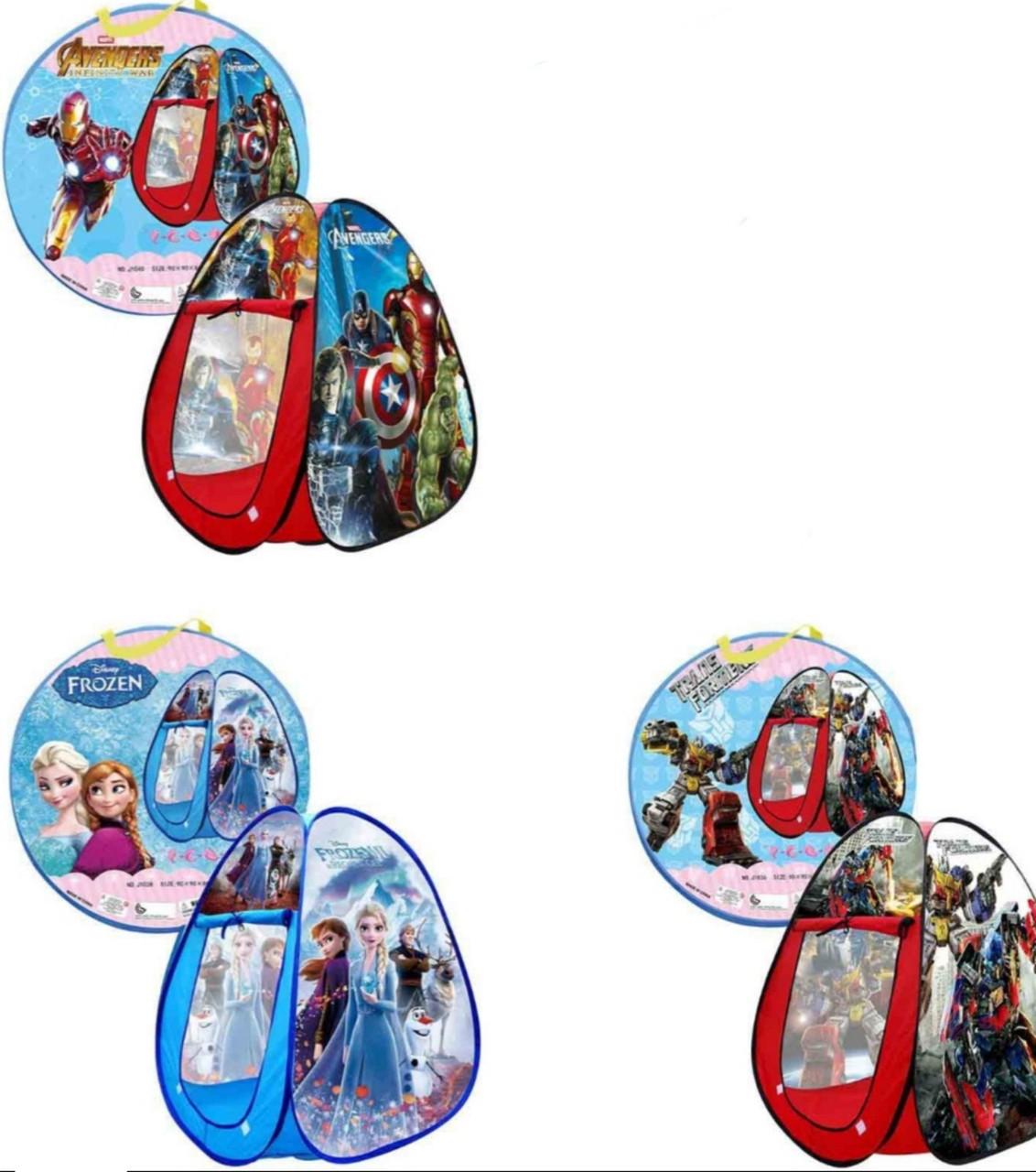 Детская игровая палатка (3 вида)