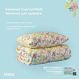 Набор: одеяло холлофайбер всесезонное 200х220 + 2 подушки 50х70 Country Home IDEIA, фото 5