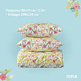 Набор: одеяло холлофайбер всесезонное 200х220 + 2 подушки 50х70 Country Home IDEIA, фото 2