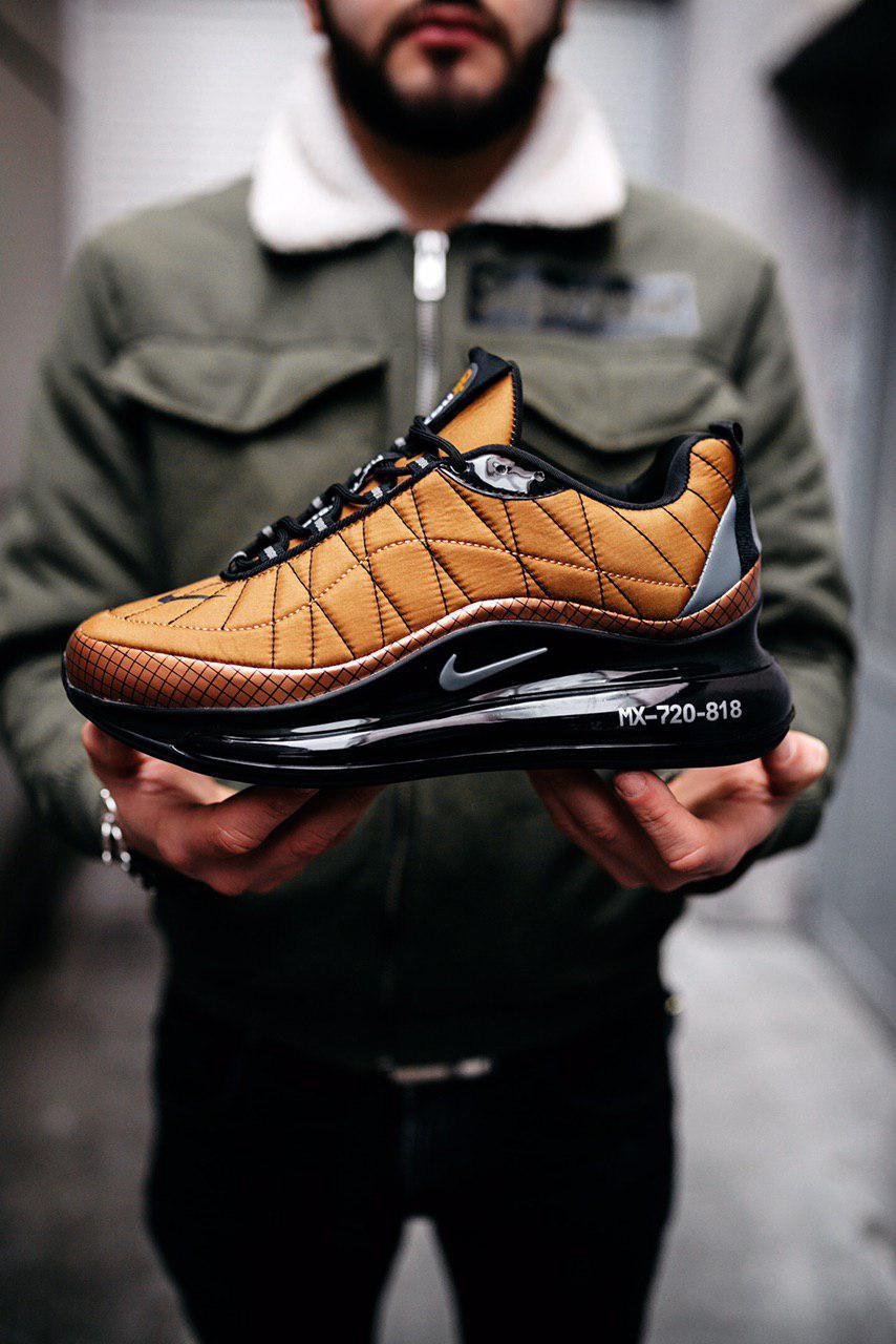 Чоловічі коричневі кросівки Nike Air Max 720 818
