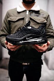 Чоловічі чорні кросівки Nike Air Max 720 818