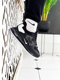 Чоловічі чорні Кросівки Nike Air Max 720