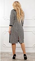 Женское платье из французского трикотажа рр 48-76, фото 2