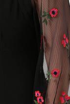 Изысканое платье с шифоновым рукавом, фото 2
