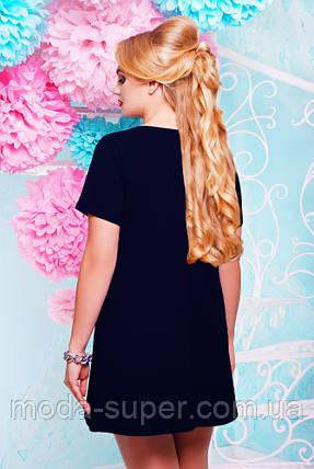 Красивое женское платье с украшением  50 - 60р  , фото 2