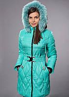 Зимнее женское молодежное пальто