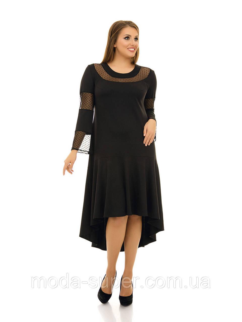 Платье свободного силуэта  рр 48-76