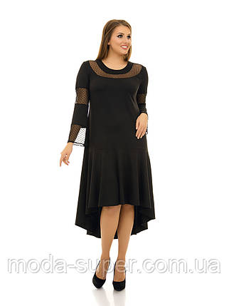 Платье свободного силуэта  рр 48-76, фото 2