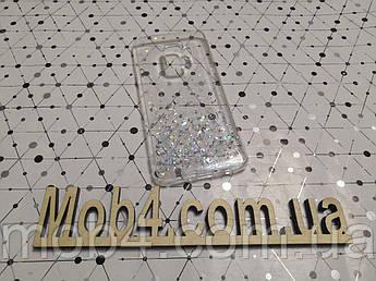 Силиконовый чехол накладка Звездная пыль для Samsung Galaxy S9
