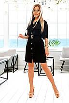 Жіноче плаття сорочка з кишенями на грудях рр 42-52, фото 3