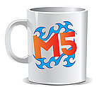 Кружка чашка мерч М5 Меджик файф Magic Five друк на чашках Гуртка чашка принт, фото 7
