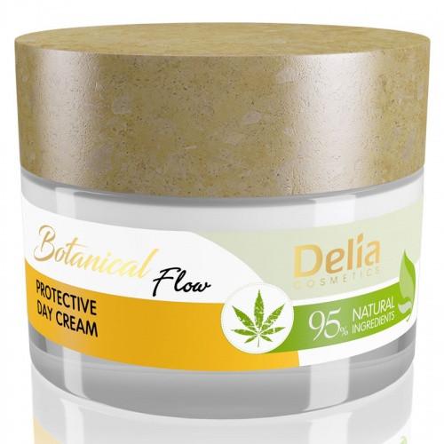 Двневной крем для лица Delia Botanical Flow Защитный 50 мл арт. 5447