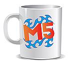 Кружка чашка мерч М5 Меджик файф Magic Five печать на чашках Кружка чашка принт, фото 6