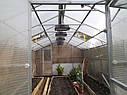 Теплица двускатная 4х6 под пк 8 мм премиум (5 лет гарантии), фото 2