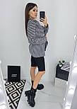 Модный пиджак женский в гусиную лапку, фото 2