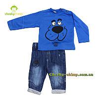 Детский костюм для мальчика  (кофта, джинсы) двойка, фото 1