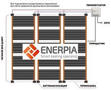 """Інфрачервона плівка """"Enerpia"""" (Корея) Ширина 0.5м Тепла підлога під ламінат, фото 2"""