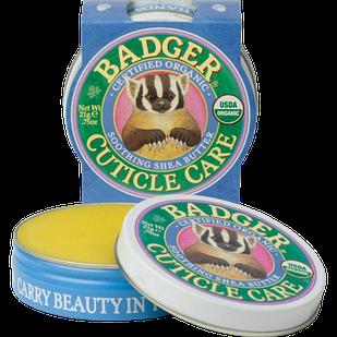 Badger Organic Cuticle Care догляд за кутикулою Натуральне масло Ши, обліпихи та інші олії 21 гр
