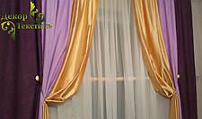 """Готовый комплект Штор """"Орхидея"""" (Софт+Шанзализе), фото 3"""