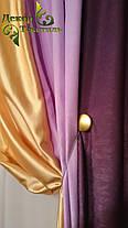 """Готовый комплект Штор """"Орхидея"""" (Софт+Шанзализе), фото 2"""