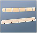 Настенная вешалка, крючки для одежды, фото 3