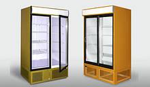 Шкаф холодильный демонсрационный 740 л.
