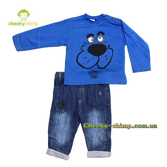 Детский костюм для мальчика  9, 12, 18 мес.