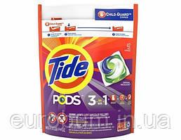 Капсулы для стирки Tide pods 3in1 универсал 42 шт (США)