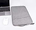 Чехол для Макбук Macbook Air/Pro 13,3'' 2008-2020 темно-серый, фото 5