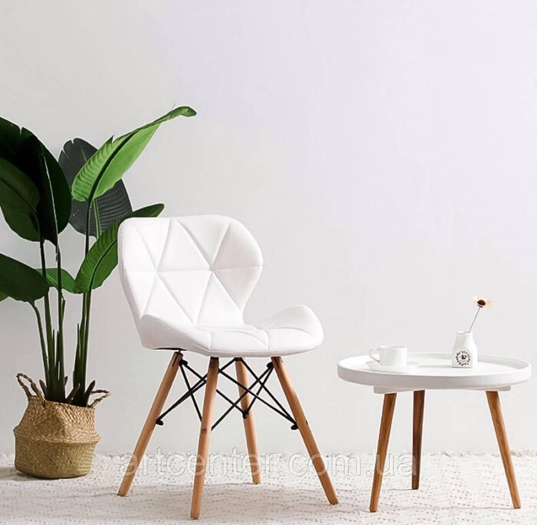 Стул для маникюрщицы, стул для дома, стул для посетителей, стул обеденный (СТАР белый)