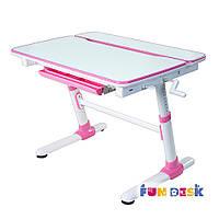 Детская парта трансформер FunDesk Carezza Pink