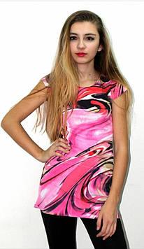 Женская модная блуза с принтом