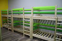 """Кровать двухъярусная """"Классик"""" для Д/С и дома. Ясень"""