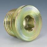 DIN 906 Заглушка G 8х1, фото 3