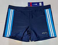 Плавки-шорти юніор Atlantic синій з блакитним