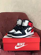 Модні кросівки Nike Air Jordan Dior, чорно білі з червоним