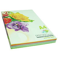 Бумага цветная Spectra Color А4 80г/м2 250 листов , набор 10 цветов (6 пастель и 4 интенсив)