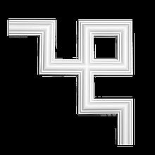 Угловой элемент 1.52.286 для стен с полиуретану