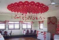 Гелиевые шарики под потолок .Цвета в ассортименте