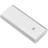 Внешний аккумулятор Power Bank Xiaomi Mi 16000 mAh серебристый повербанк зарядное устройство для телефона.