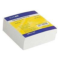 Блок паперу для нотаток EconoMix 85х85мм 400 листів білий не склеєний