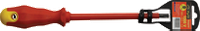 Отвертка 1,0х5,5х125мм с прямым шлицем (диэлектрическая 1000В)