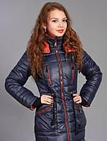 Молодежная куртка ― парка, утепленная на силиконизированном синтепоне