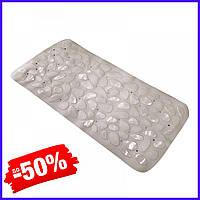 Коврик Bathlux Rosa 40240 антискользящий резиновый на пол в ванную и душевую кабину 36х75 см