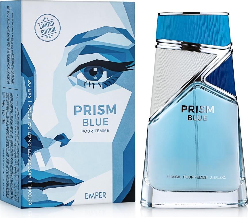 """Парфюмированная вода для женщин """"Prism Blue """" Emper 100мл"""