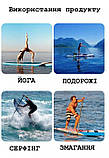 Надувна САП дошка 10' Holly SUP Serf Board для Серфінгу Універсальна, Koi 300x76x15 Паддлбординг, фото 6