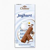Шоколад молочный с йогуртовой начинкой  Chateau Joghurt Riegel 200г